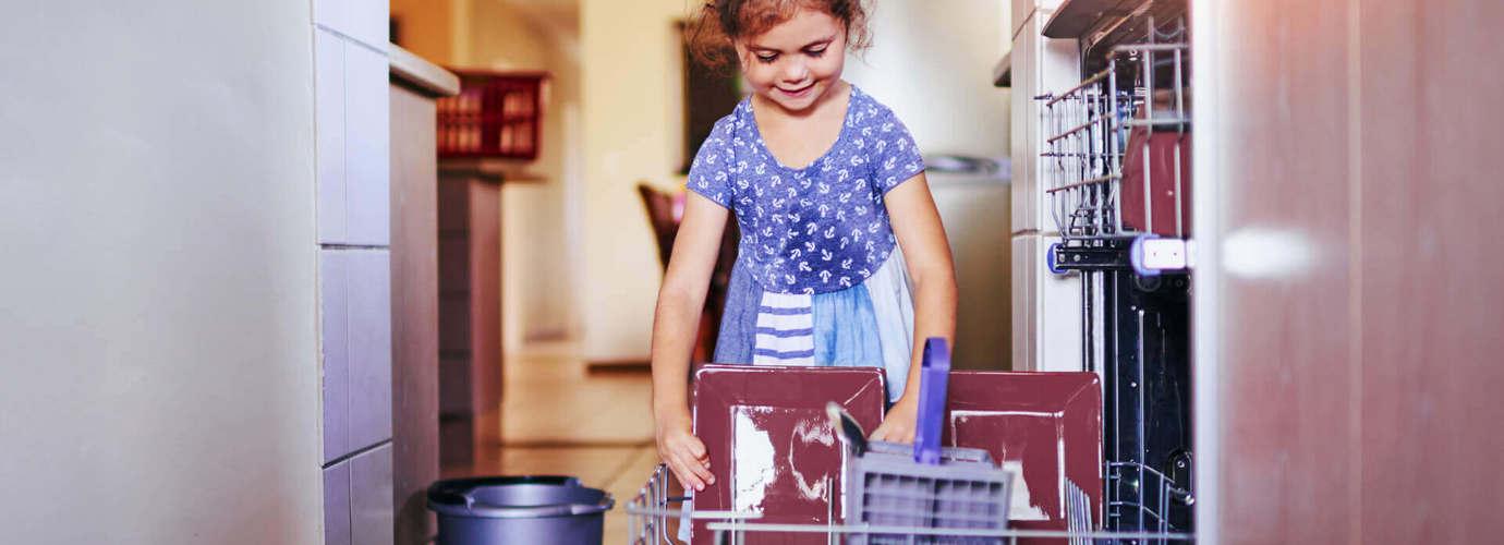 In Sechs Schritten Den Geschirrspuler Reinigen Zewa