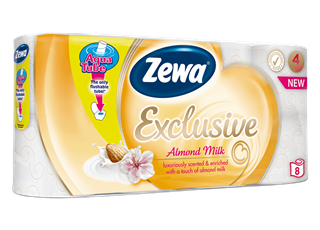 Zewa Exclusive Almond Milk 8