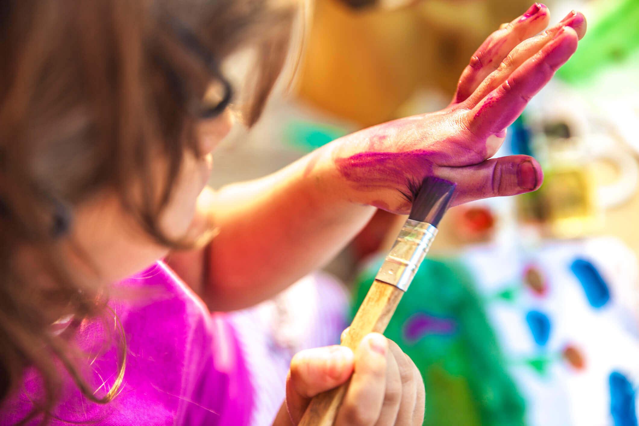 3 Éves gyerek kreatív