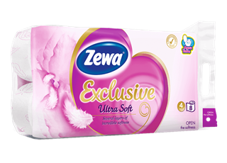 Zewa Exclusive Ultra Soft 8