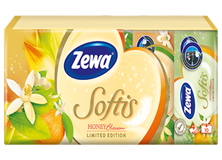 Zewa Softis Honey Blossom