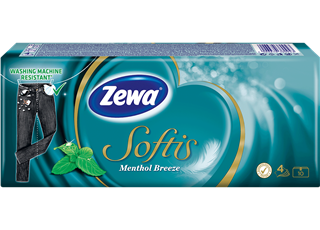 Zewa Softis Menthol Breeze