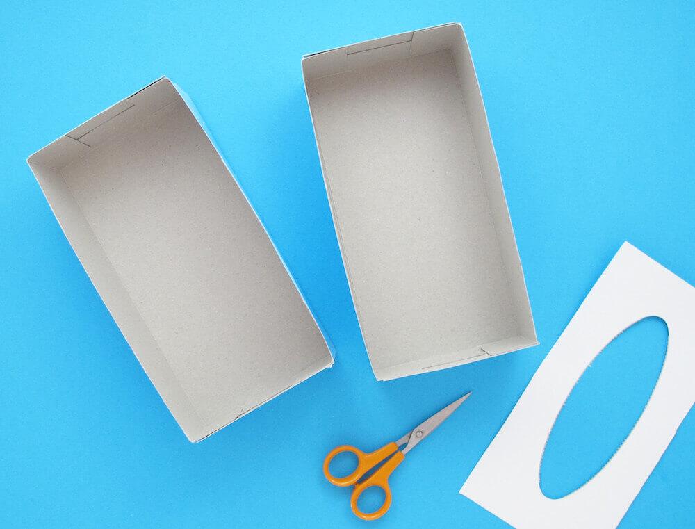 Toilettenpapier Vorratsbehälter Basteln Zewa