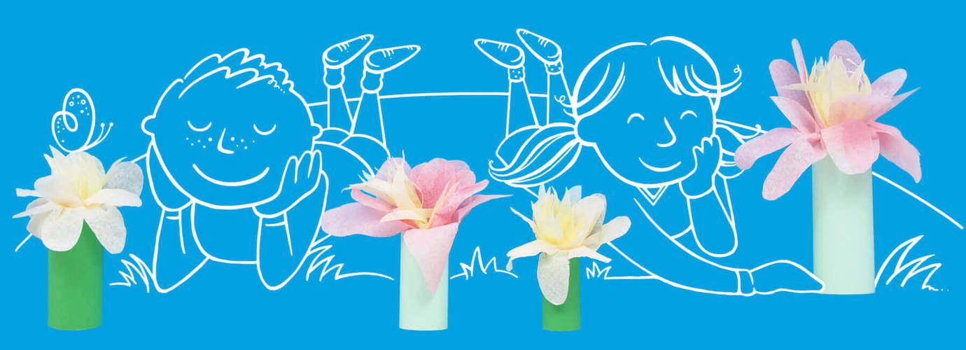 Papierblumen Selber Machen Eine Anleitung Zewa